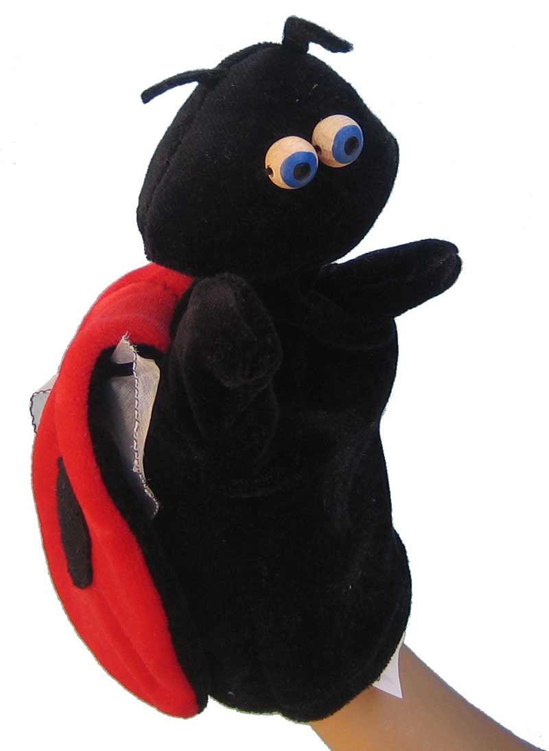 La coccinelle - marionnette pour jeune enfant